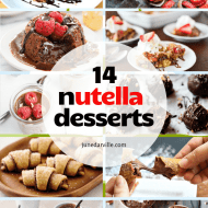 14 Nutella Recipes & Sweet Treats