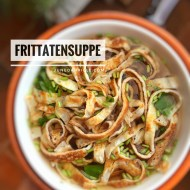 Best Frittatensuppe (Sliced Crepe Broth)