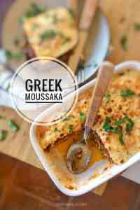 This is hands down the best moussaka recipe in the world! Inspired by two foodie chefs and blogger friends from Athens... Classic Greek food at its very best!