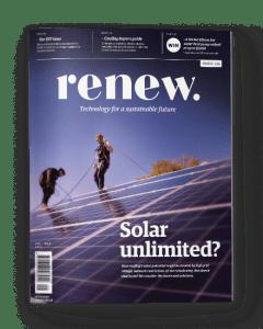 Sample cover of Renew magazine