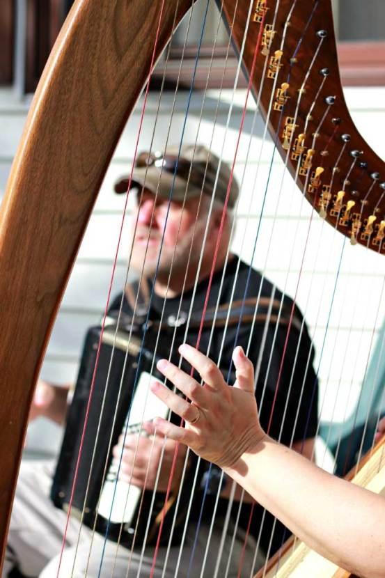 Dennis-through-harp-by-Karen