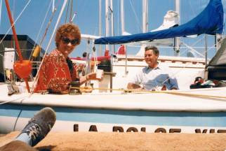 New sailboat, previously La Dolce Vita, renamed Vita