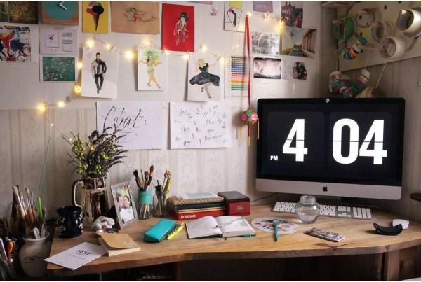 June Sees - Desk space / studio space