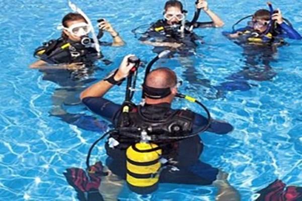 scuba training