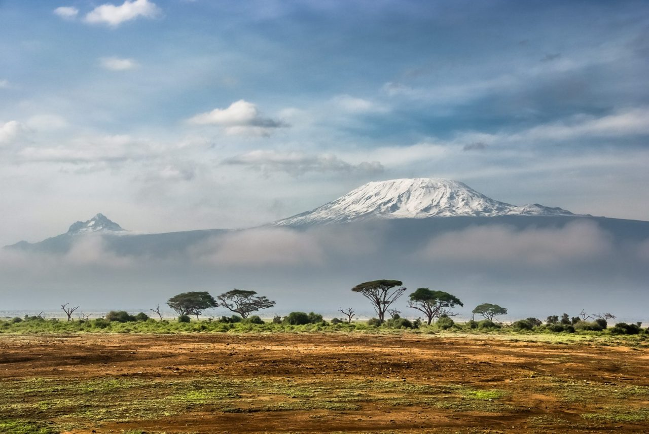 View of Kilimanjaro from Amboseli National Park