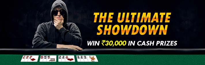 indian rummy contest ultimate showdown