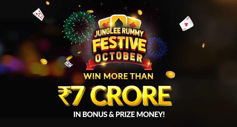 Junglee Rummy October Promotions