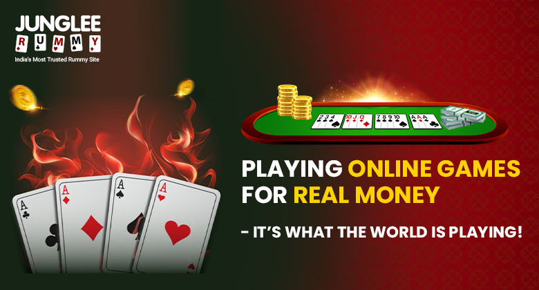 Playing Online Games for Real Money- It's what the World Is Playing!