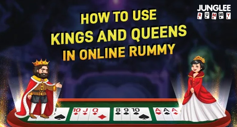 Used queen & king in rummy