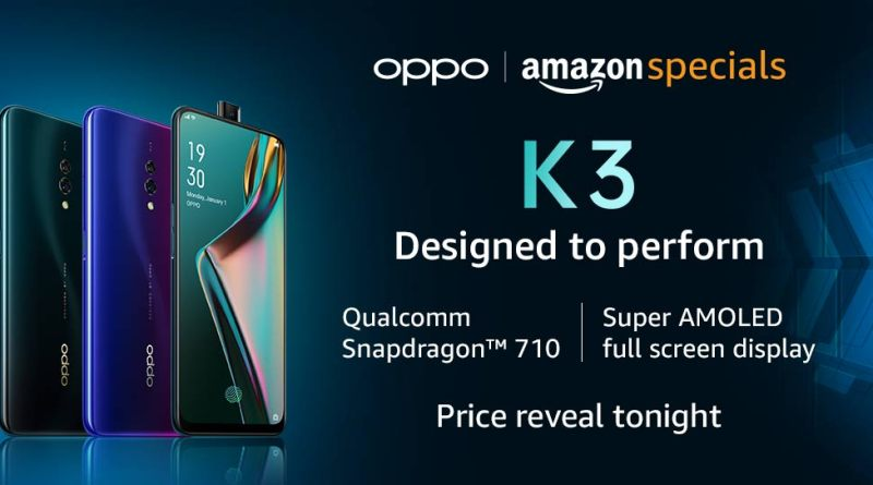 Oppo K3 will be launched in India today.