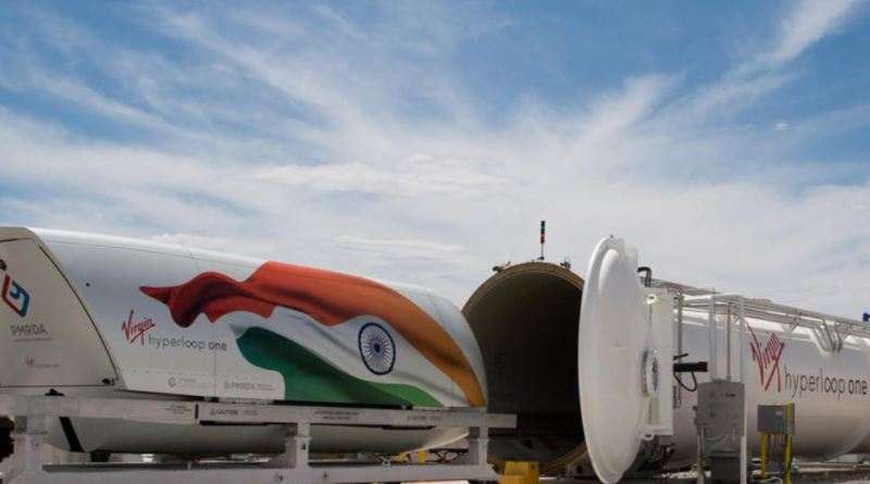 India may launch the world's first Hyperloop one technology