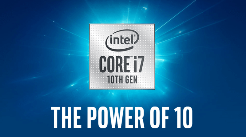 Intel launched its 10th gen Ice Lake processor based on 10 nm