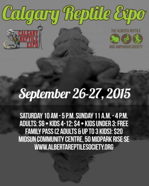 calgary reptile expo fall 2015