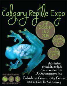 Calgary Alberta 2016 Fall Reptile Expo