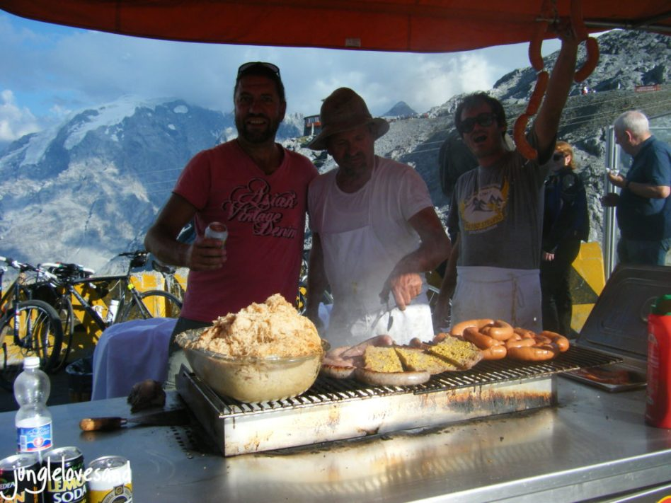 Alpen 1. Etappe 27.8. Schweiz Stelvio Pass (11)
