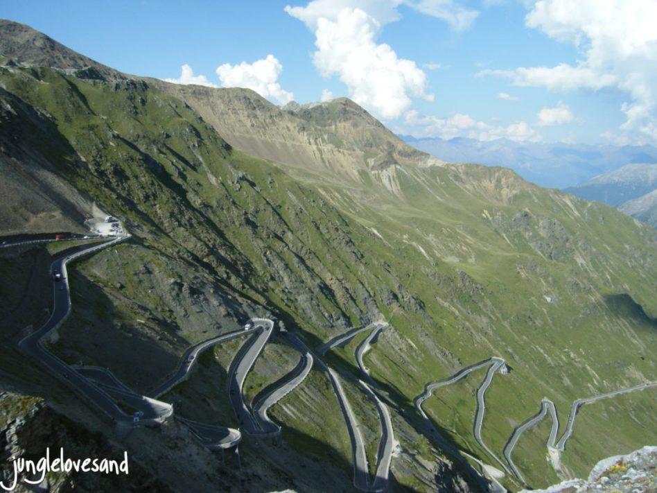 Alpen 1. Etappe 27.8. Schweiz Stelvio Pass (3)
