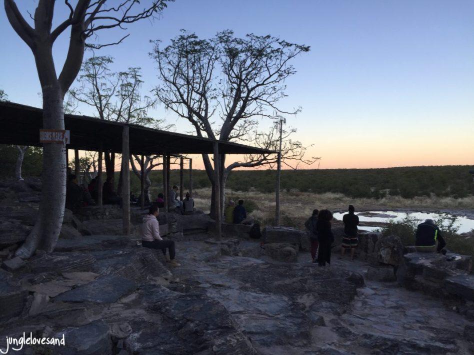 Etosha Park, Halali Campsite