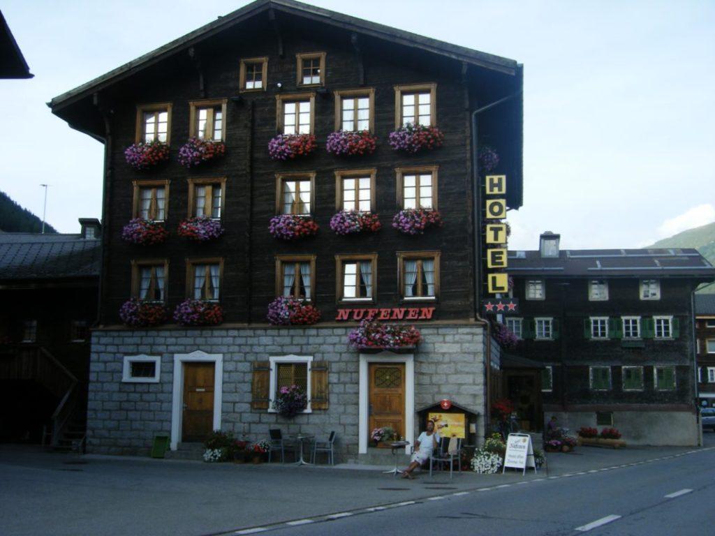 Ulrichen Hotel Nufenen Schweiz