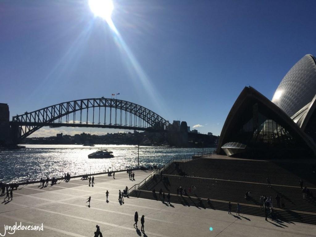 Habour Bridge und Sydney Opera