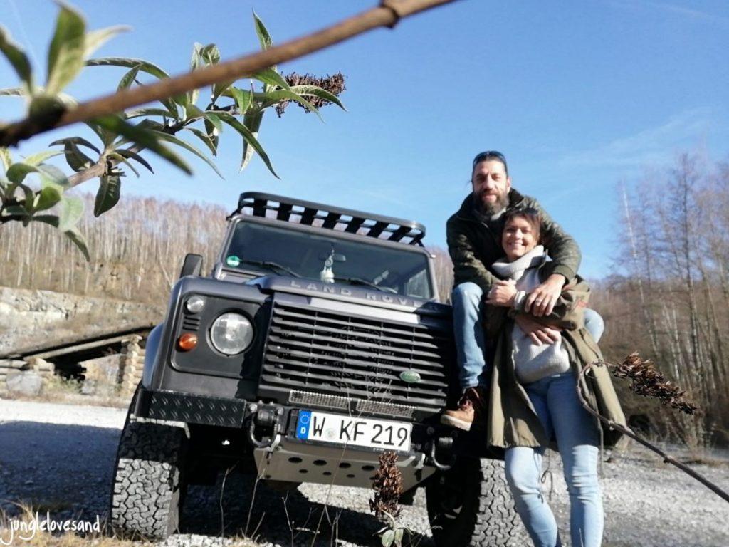 Rhino, unser Land Rover Defender