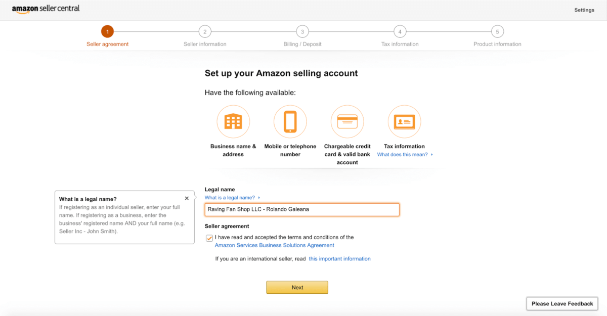Start Dropshipping on Amazon