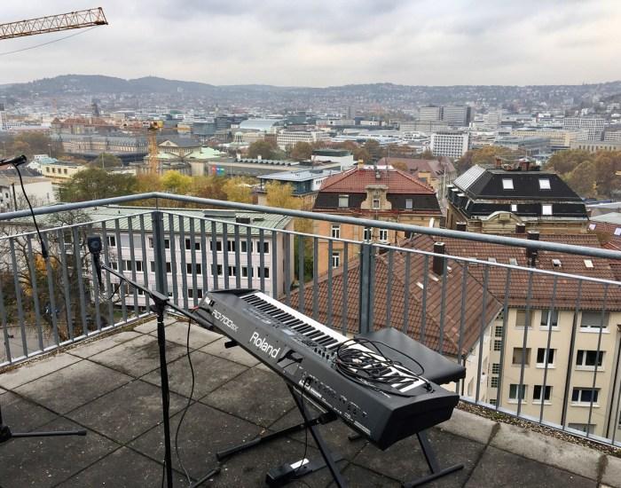 Junik zu Gast bei BalconyTV Stuttgart