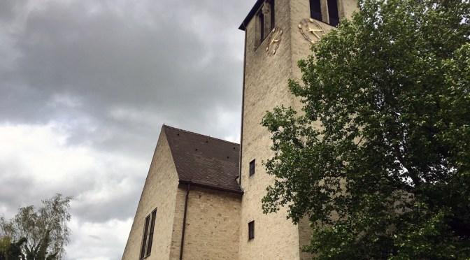 Die evangelische Christuskirche in Reutlingen