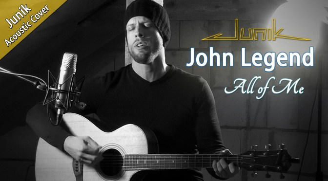 "Neues YouTube-Cover ""All Of Me"""