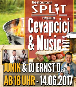 Cevapcici & Music :: Junik @Restaurant Split Reutlingen