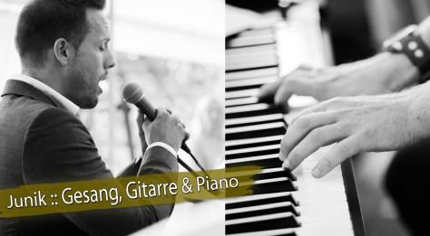 Hochzeitsduo Gitarre, Gesang & Piano