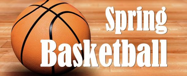 Spring Basketball Registration is now OPEN