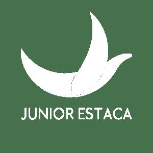 Logo Junior Estaca blanc