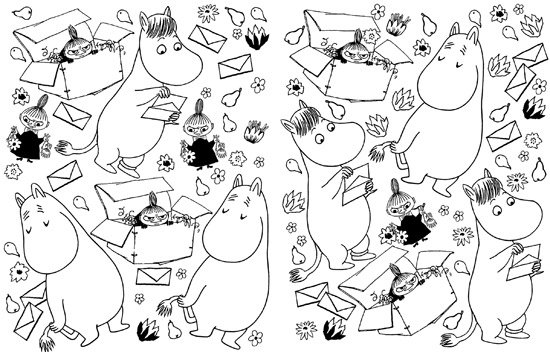 Coming Soon The Moomin Colouring Book Junior Hipster
