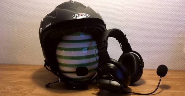 Headset unit for Race use - Trial