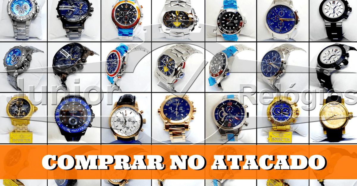 7272ca10f05 Junior Relógios de Luxo - Compre Relógios no Atacado