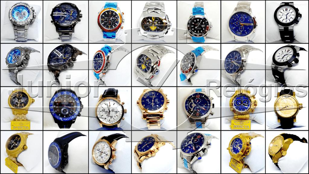 Revender Relógios - Seja Nosso Afiliado - Junior Relógios Entre em Contato Via Whatsapp (44)99868-4838