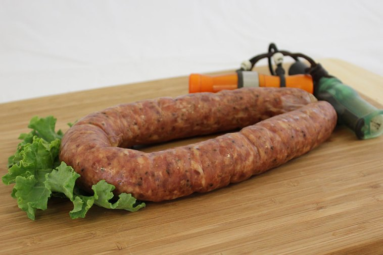 duck pork sausage