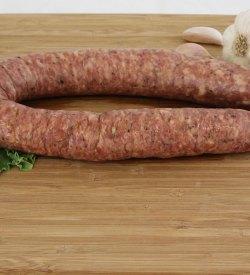 garlic pork beef sausage
