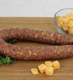 three cheese sausage