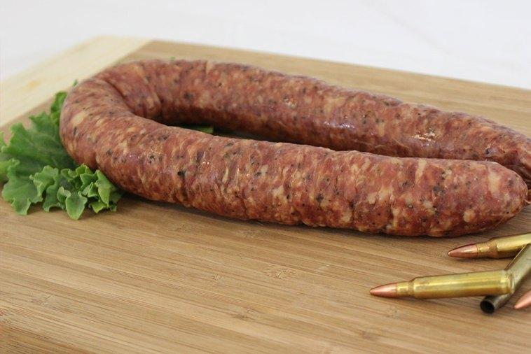 venison sausage