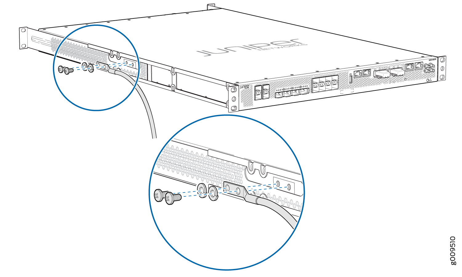Connecting The Srx To Power