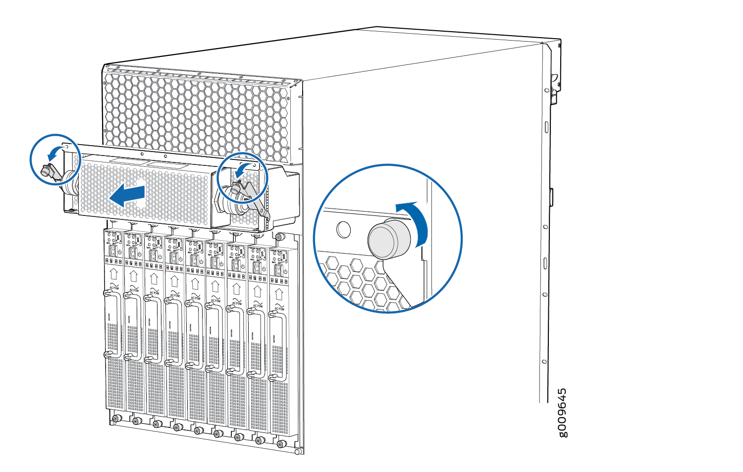 Removing An Mx Three Phase Delta Ac Power Distribution