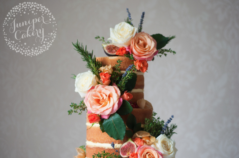 Wild autumn naked cake by Juniper Cakery