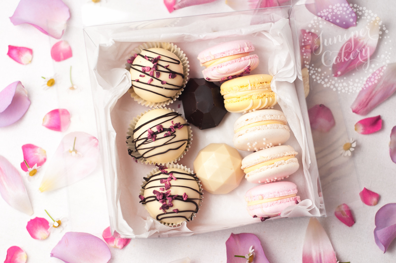 Mother's Day macarons, cake truffles and chocolates in Yorkshire
