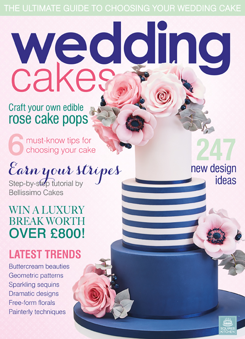 Wedding Cakes magazine interview with Juniper Cakery