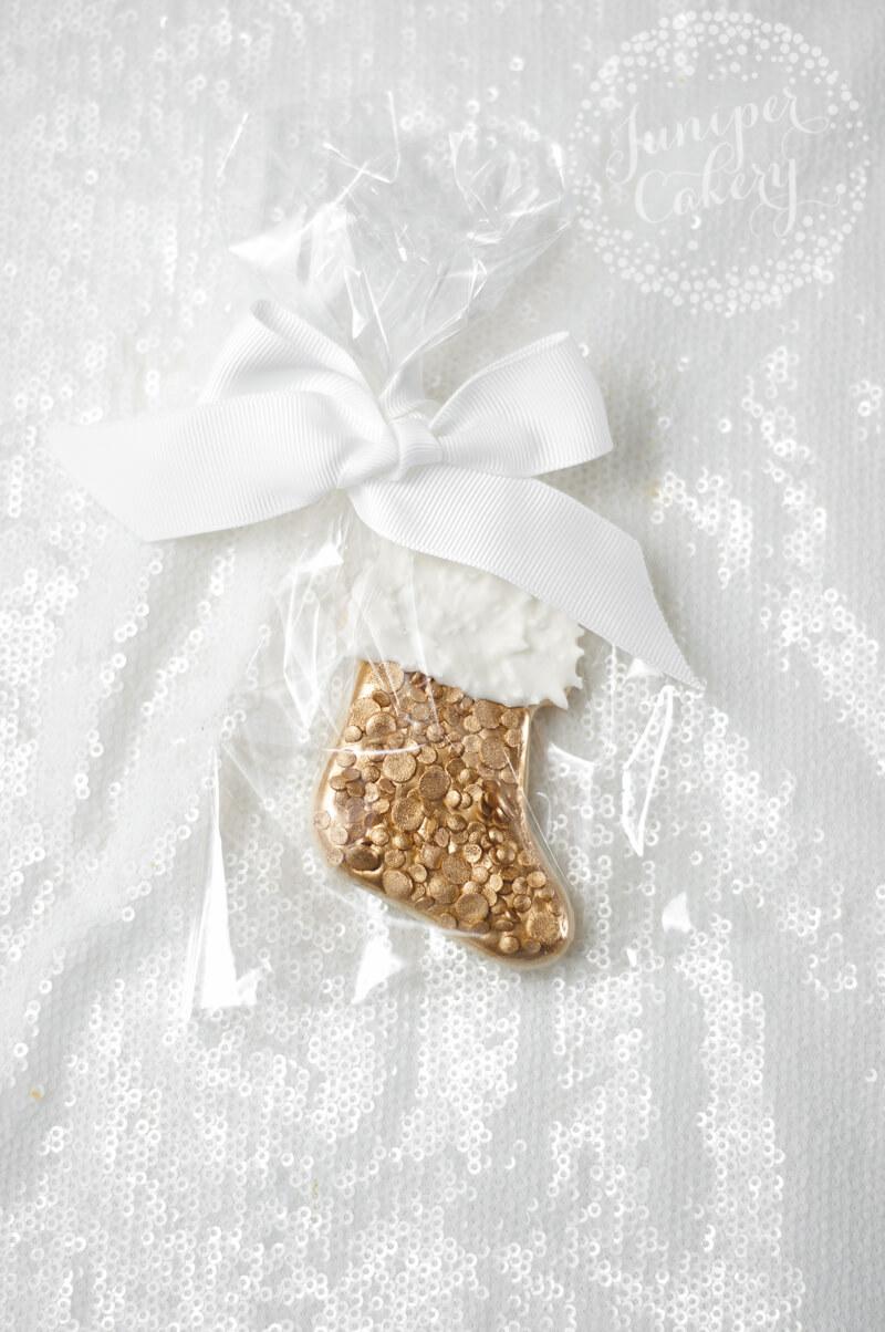 Christmas stocking cookie tutorial for the festive season