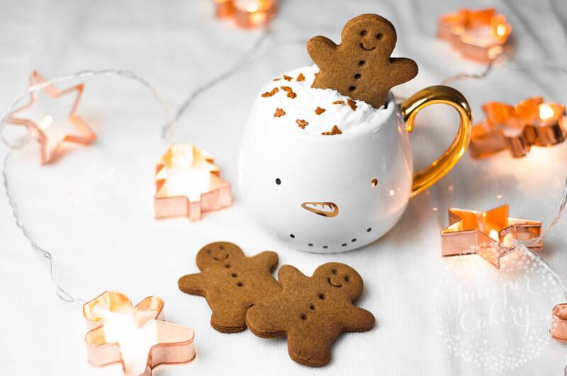 Gingerbread cookies recipe by Juniper Cakery