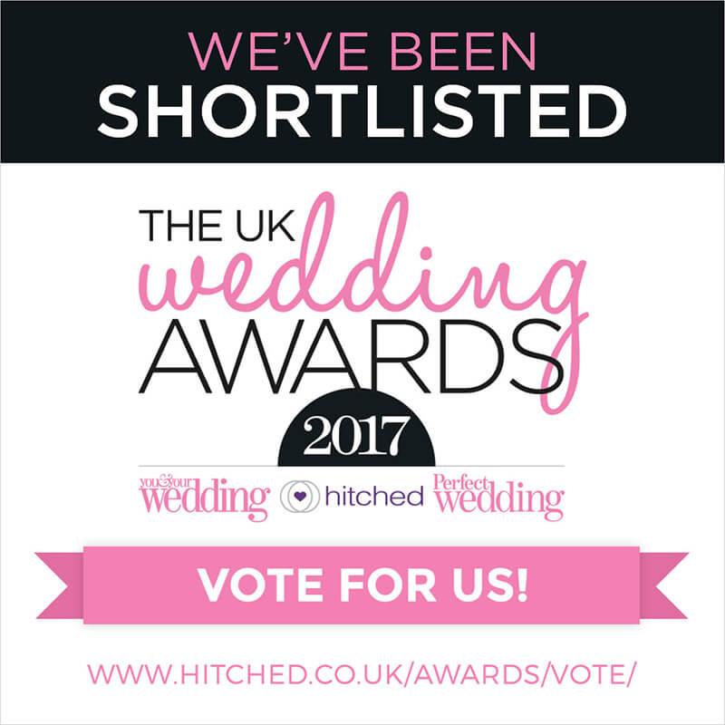 Vote for Juniper Cakery in the UK Wedding Awards 2017!