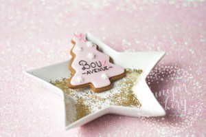 Boux Avenue x Juniper Cakery: Pink Christmas Tree Cookies!