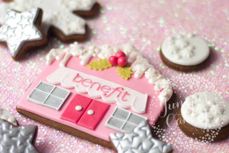 Benefit Cosmetics and Juniper Cakery collaboration